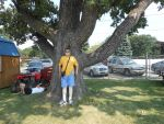 ME by the old oak tree! by kingdragon01