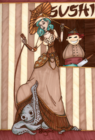 Otto and Victoria - Fan Art Competition Entry by sedna-13
