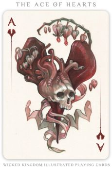 Card Art: The Ace of Hearts by wylielise