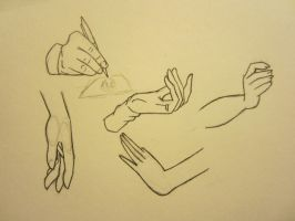 hands practice 2 by ChazzVC