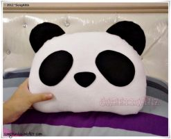 Panda Pillow by SongAhIn