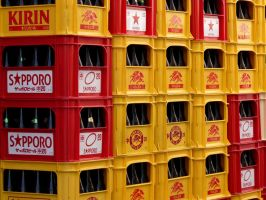 Tokyou 2009: Beer Crates by Meagan-Marie