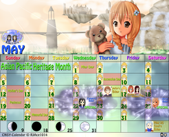 CNSY Calendar - May by RJAce1014