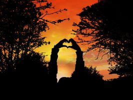 Heart Silhouette by Lewis-H
