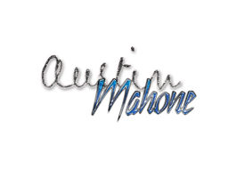 TextoPNG| Austin Mahone by YuliiEditiions
