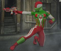 Captain Italia 2nd skin textures for M4 by hiram67