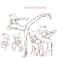 Detentionaire:Doodles- by arrival-layne