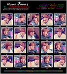Hyun Joong's Coloring Icons 1 by o00khanhlynk00o