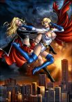 Fight of two blondies by Candra