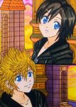 Roxas x Xion: At dusk I will think of you by dagga19
