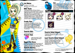 Monster High OC: Laci Moirae by ChamomileCatastrophe