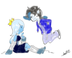 Ice Princess And Vampire Boy by shaxime2soxime