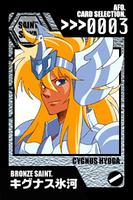 SS Cards - Hyoga by afo2006