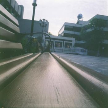 bench by diana-pinhole