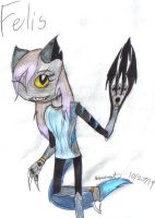 Mixels Felis of the Shade Troop by werecatkid17