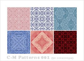 C-M Patterns 001 by crowned-meadow