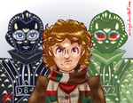 Dr Who and the Robots of Death by MrBIGAL