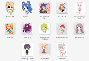 RESELLING/TRADING OCS - PLEASE HELP [added more] by Sueweetie