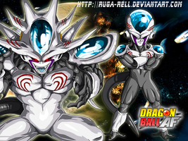 Son of frieza....IZE by ruga-rell