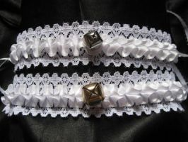 Ruffle Cat Collars by mad-hatter-inc