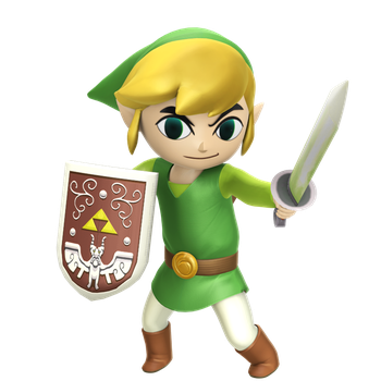 Toon Link Hyrule Warriors style 2 by Nibroc-Rock