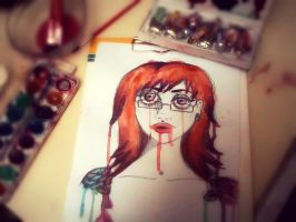 selfportrait. by Human-Canvas