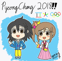 PyeongChang 2018 Winter Olympics by gaming123456