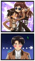 Meila and Fem!Eren ft. Levi- We got the SWAG! by 13Kitty95