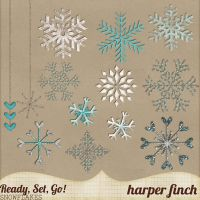 Sweater Weather, Snowflakes by harperfinch