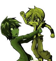 Ben10:Hey lemme down by Nippo
