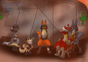 Surviving Members of Elite 9 by Threehorn