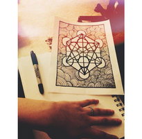 Metatron's Cube by twerkgod