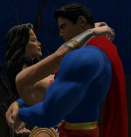 Superman and Wonder Woman GMod by Janus3003