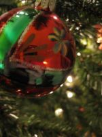Christmas Red Ornament by vanillacoke00