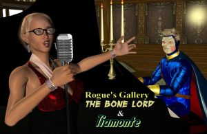 Rogue's Gallery Bone Lord and Tiamonte by White0wlsuperheroine