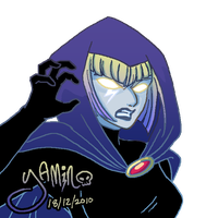 Lady Gaga Raven by Yamino