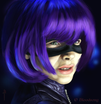 Hit Girl by Bloodsong13T