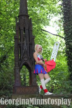 Juliet Starling cosplay by Testystarfish
