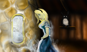 Alice Through the Looking Glass by Solidnate