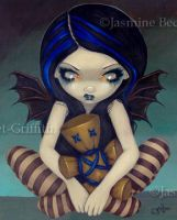Voodoo in Blue by jasminetoad
