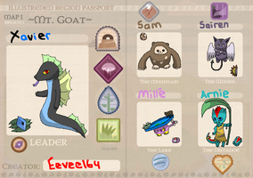 Illustreden Mt. Goat passport_Xavier by Eevee164