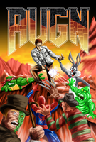 AVGN - DOOM Poster. by Atariboy2600