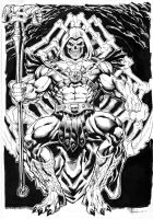 Skeletor Inks by Kevin-Sharpe