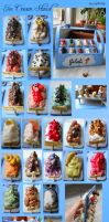 Miniature Ice Cream Stand by geekySquirrel