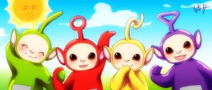 Teletubbies by KishiShiotani