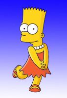 Bart and Lisa swap by L4Drules4