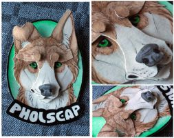 Commissions: 3D - Portrait - Pholscap by SaQe
