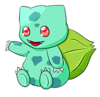 Bulbasaur #001 by hmClaire03