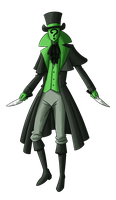 Green Detective: Jack by MTC-Studio