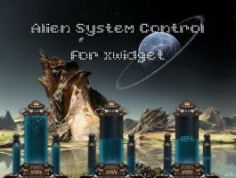Alien System Control for xwidget by jimking